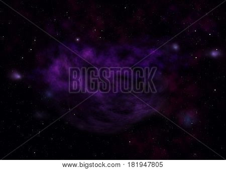 Star field in space a nebulae and a gas congestion. Elements of this image furnished by NASA .