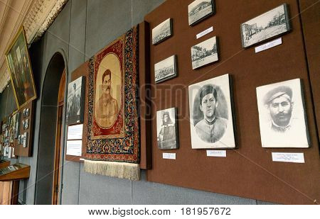 Museum Of Joseph Stalin In Gori. Georgia