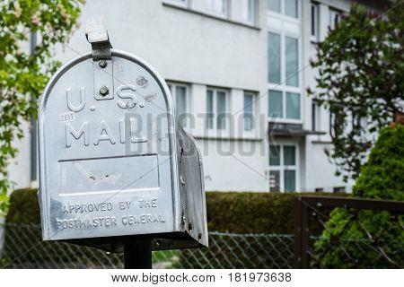 Us Mailbox Metal Aluminum Outdors Public Home
