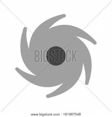 Cyclone, lightning, darwin icon vector image. Can also be used for disasters. Suitable for mobile apps, web apps and print media.