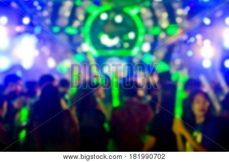 Blur Club Party.