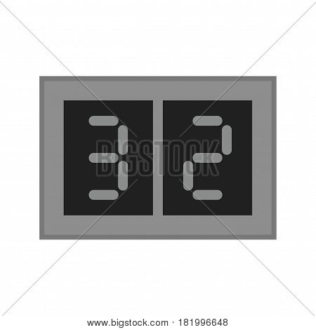 Scoreboard, numbers, olympic icon vector image. Can also be used for olympics. Suitable for mobile apps, web apps and print media.