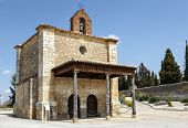 Berlanga de Duero Chapel of Our Lady of Solitude Soria Province Castile and Leon Spain poster