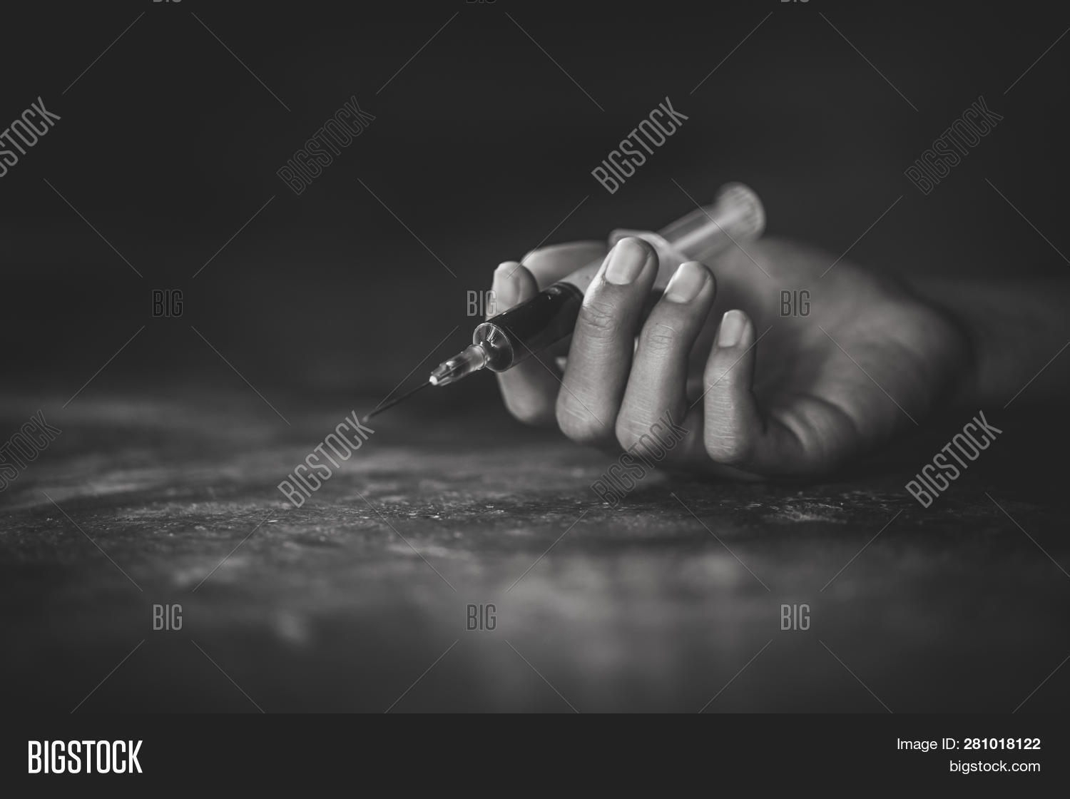 Woman Hand Drug Addict Image & Photo (Free Trial) | Bigstock