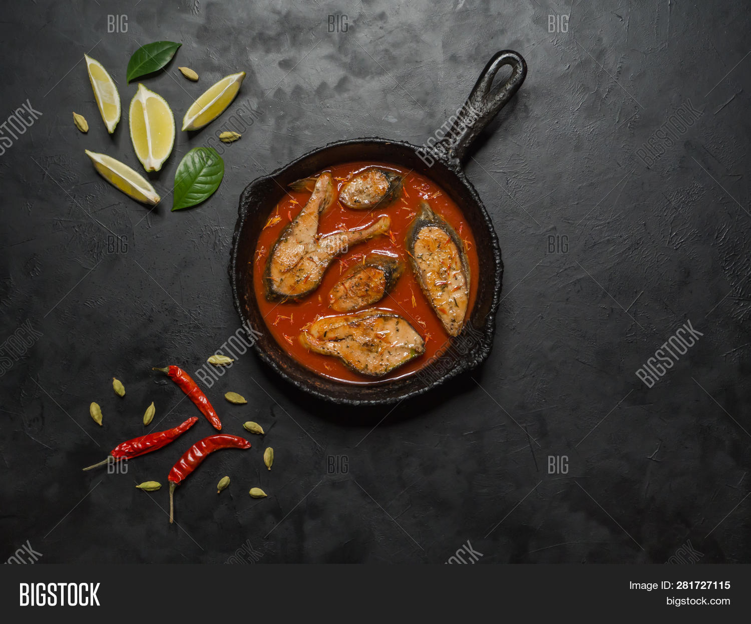 Top View Spicy Hot Image Photo Free Trial Bigstock