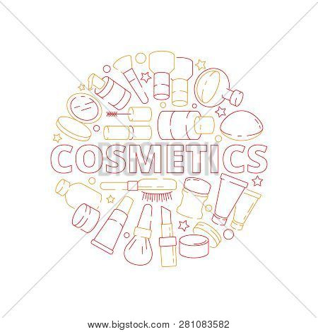 Makeup Symbols Vector Photo Free Trial