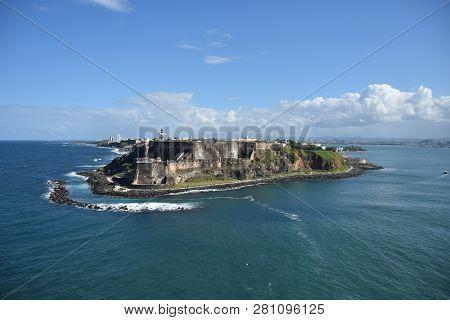 San Felipe Fortification In San Juan Puerto Rico
