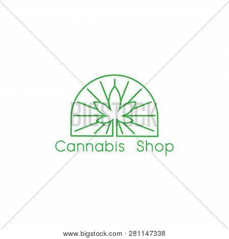 Cannabis. Marijuana. Marijuana Vector. Marijuana icon Vector. Marijuana logo vector. Marijuana symbol. Marijuana medical care design. Marijuana illustrations. Marijuana leaf design. Marijuana medical vector illustration isolated on white background.