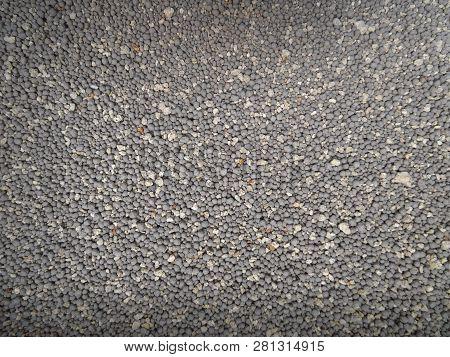 Background Of Sodium Bentonite Cat Litter Or Cat Sand