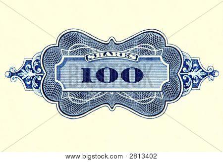 Сертификат фондовых акций.