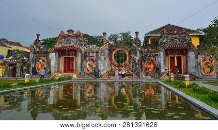 Temple Of Mother (chua Ba Mu) In Hoian, Vietnam