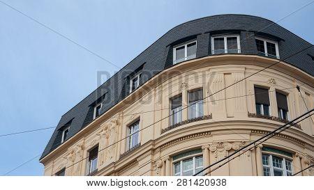 Altes Gebäude In Wien In Der Innenstadt