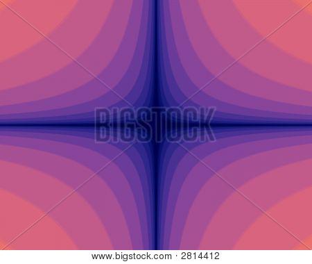 Pink Blue Tubes Downward