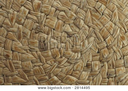 Dark Brown Woven Texture