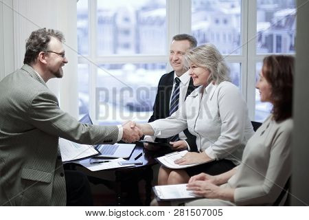 Handshake Financial Partners Prior To Discussion Of The Transaction