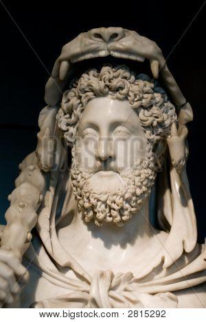 Roman Bust Of Hercules