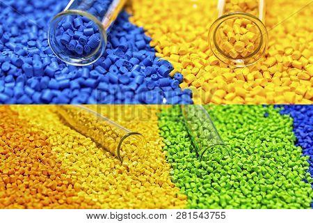 Polymeric Dye. Plastic Pellets. Colorant For Plastics. Pigment I
