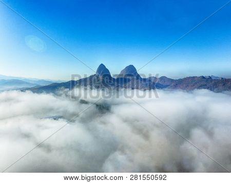Maisan Horse Ear Shape Mountains, Jinan , Jeollabukdo, South Korea
