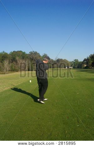 Driving Down The Fairway