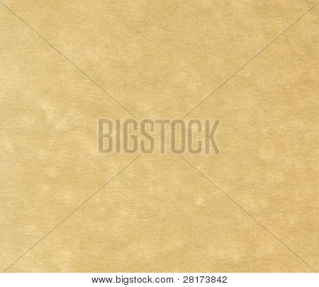 Yellow plush fabric textile texture to background