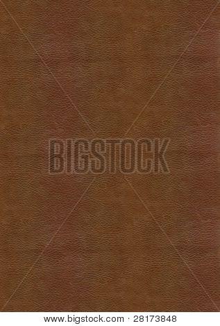 Brown leather texture to backgrounnd