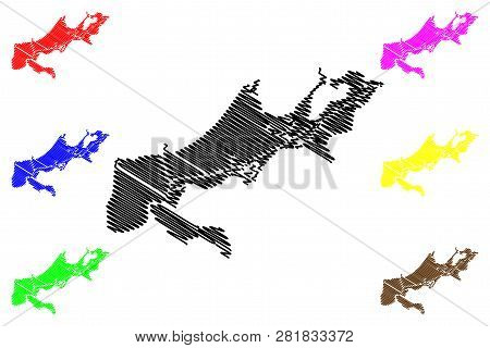 New Orleans City (united States Cities, United States Of America, Usa City) Map Vector Illustration,