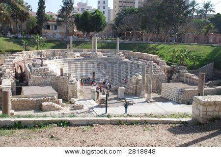 Roman Amphitheater Alexandria Egypt 2 075