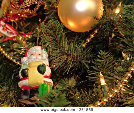 Santa Ornament Levels