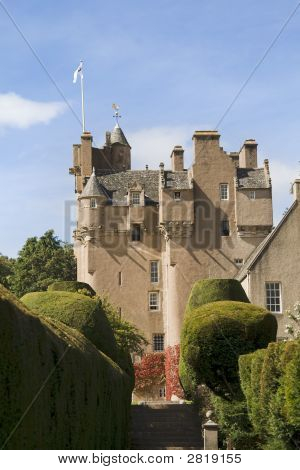 Crathes Castle In Scotland
