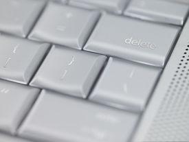 Keyboard Delete Key