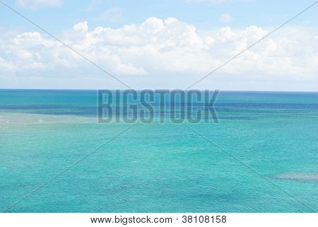 Ocean view from the Bahamas