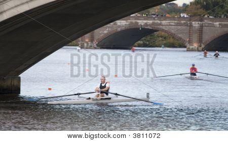 Boston, Ma 10 18 2008 Grand-Master  Singles 50+ In Charles Regatta  - Racer Sean Maloney