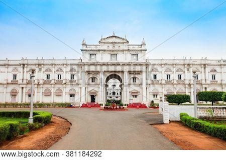 Jai Vilas Mahal Palace Is A Nineteenth Century Palace In Gwalior City, Madhya Pradesh State In India