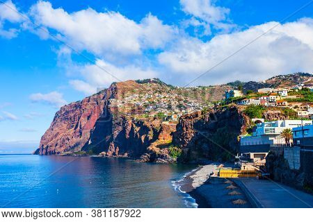 Cabo Girao Is A Cliff Located Along The Southern Coast Of The Island Of Madeira In Portugal
