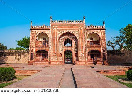 Tomb Of Itimad-ud-daulah Or Itimad Ud Daulah Maqbara Is A Mughal Mausoleum In Agra City, Uttar Prade