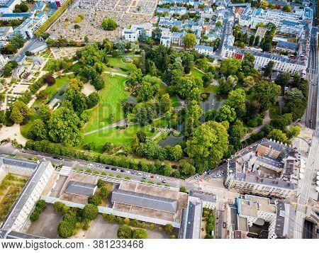 Jardin Des Plantes De Nantes Is A Municipal Botanical Garden In Nantes City, Pays De La Loire In Fra