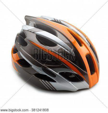 Side View Of Bike Helmet