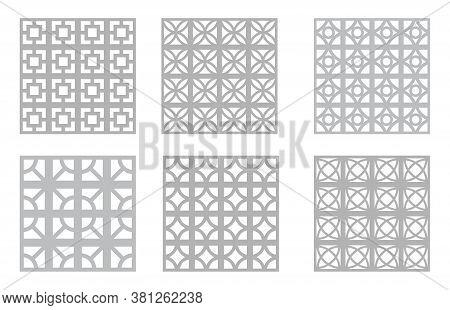 Breeze Block Patterns   Mid-century Modern Concrete Block   Geometric Mcm Design Elements   Palm Spr