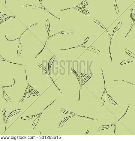 Seamless Pattern Hand Vector Photo Free Trial Bigstock