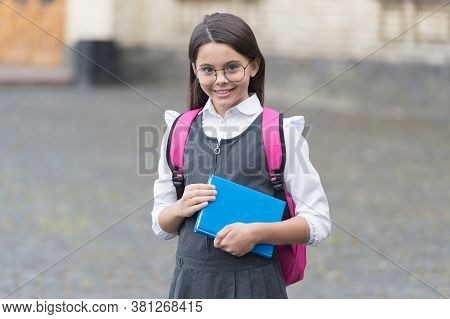 Welcoming Everyone At School. Happy Kid Go To School. September 1. Back To School. Knowledge Day. Fo