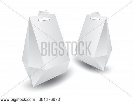 White Package Boxes Vector, Package Design, Set 3d Boxes, Product Design, Realistic Packaging For Dr