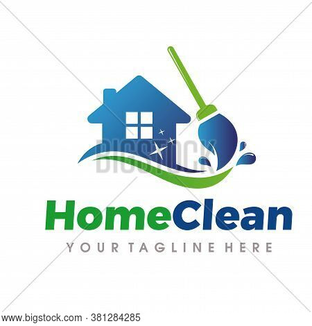 Home Cleaning And Cleaning Services Logo