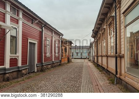 The Old Town Of Rauma, Finland Is Quite A Place To See. It Has Been Kept Resembling The Original Loo