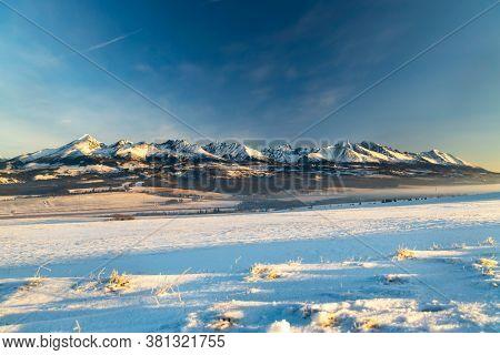 Hight Tatras (Vysoke Tatry) in winter time, Slovakia