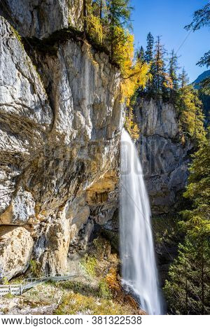 Johanneswasserfall waterfall, Sankt Johann im Pongau district, Province of Salzburg, Austria