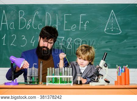 Cognitive Skills. Back To School. Chemistry Experiment. Teacher Child Test Tubes. Cognitive Process.