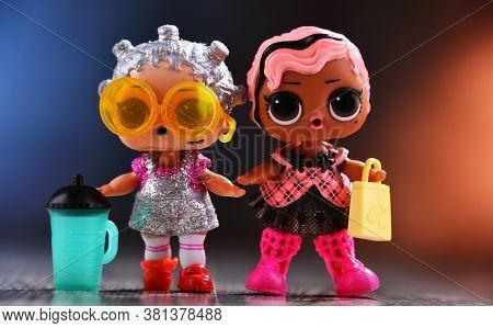 Two L.o.l. Surprise! Dolls