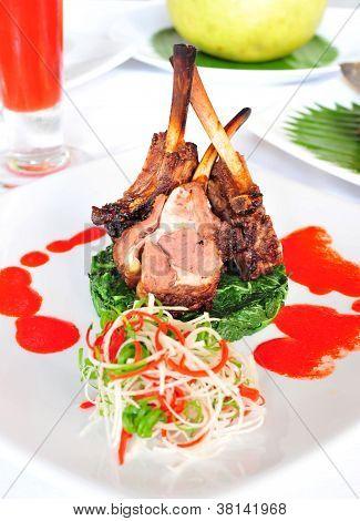 Lamb chob