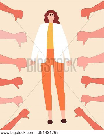 Massive Bullying And Fingers Show Down, A Vector Chart