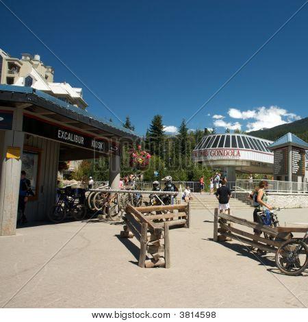 Village Of Whistler In British Columbia